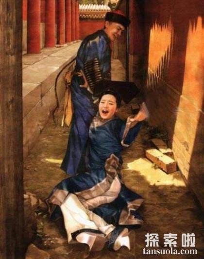 故宫灵异事件:珍妃井现恐怖倒影,珍妃井恐怖图片(图4)
