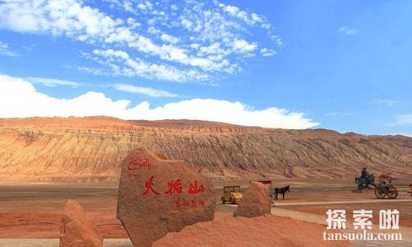 世界上最低的盆地吐鲁番盆地,比海平面还低154米(图1)