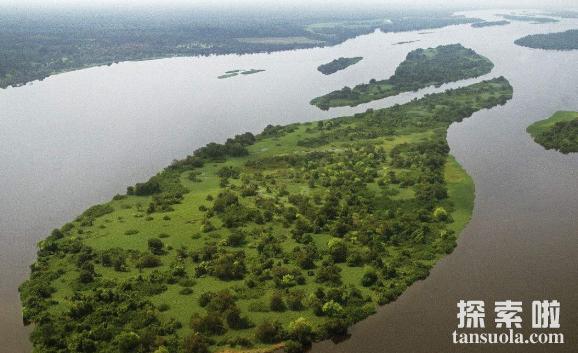 世界上最深的河刚果河,最大深度约为250米(图1)