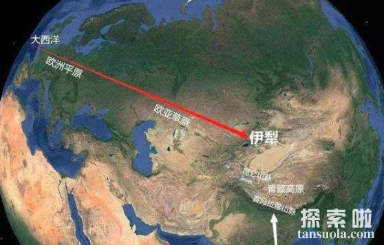世界上最大的草原:欧亚草原,横跨两大洲,东西绵延110个经度(图1)