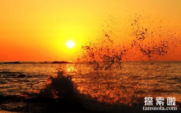 世界上最年轻的海:红海,形成于2千万年前(海水呈红色)