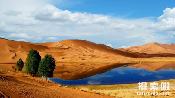 中国最大的沙漠:塔克拉玛干沙漠,会移动的沙漠(图6)
