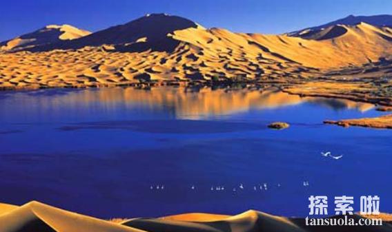 我国最美十大沙漠,塔克拉玛干沙漠最大,柴达木沙漠最美(图3)
