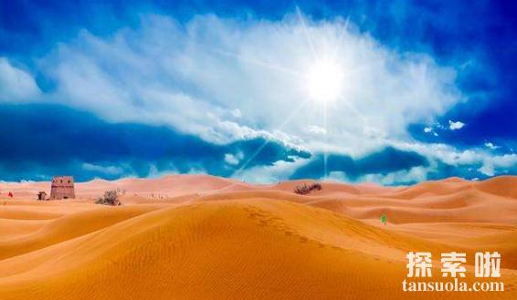 我国最美十大沙漠,塔克拉玛干沙漠最大,柴达木沙漠最美(图4)