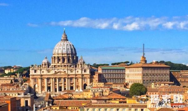 欧洲最小的国家:梵蒂冈,仅0.44平方公里,一不留神就出国(图1)