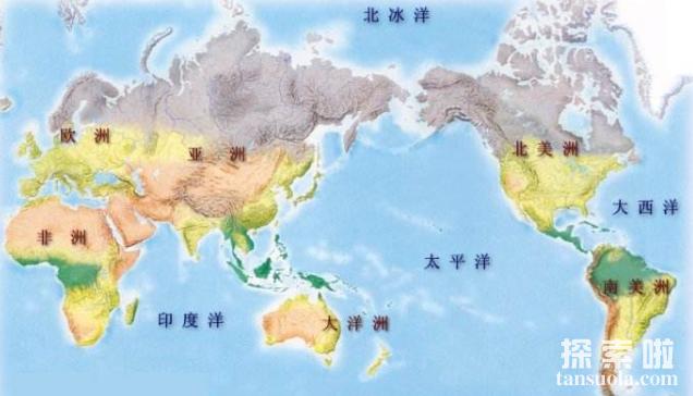 世界上面积最小的大洋:北冰洋,面积仅为太平洋的1/14(图5)
