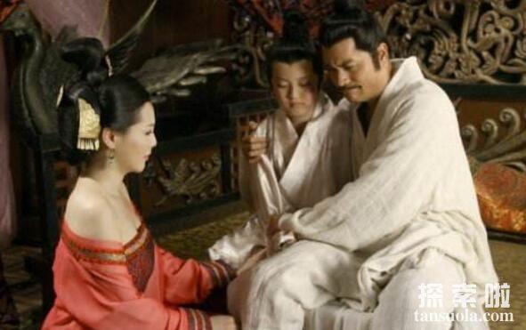 吕后杀了刘邦几个儿子,吕后杀掉了4个,连孙子也不放过(图2)