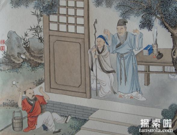 二十四孝之戏彩娱亲的故事,穿五色彩衣只为博父母开心(图1)