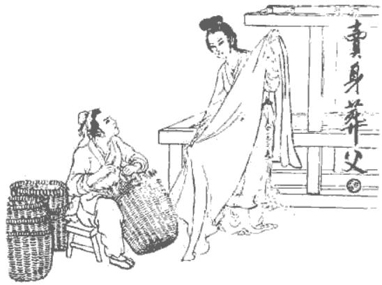 二十四孝故事:卖身葬父,孝心感动天帝,派女儿人间相助(图3)