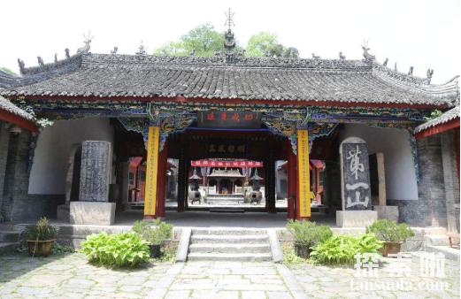 """道教圣地张良庙,一代谋臣张良""""辟谷修仙""""处(图2)"""