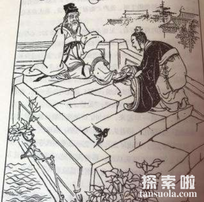 """张良拜师的故事,落魄公子张良""""圯桥授书""""成一代名士(图2)"""
