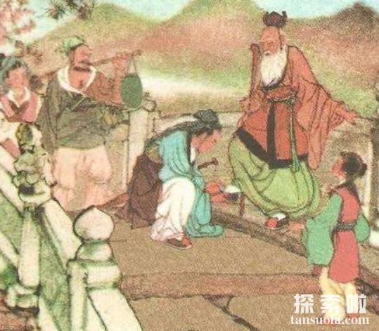 """张良拜师的故事,落魄公子张良""""圯桥授书""""成一代名士(图3)"""