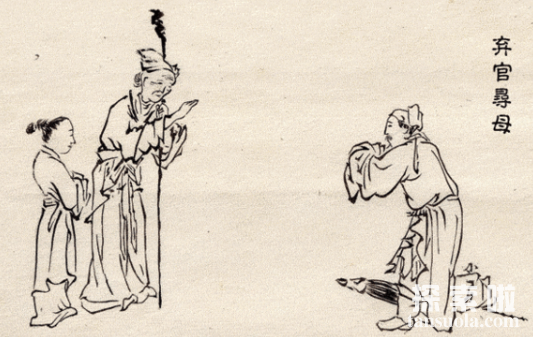 二十四孝故事:弃官寻母,孝子朱寿昌辞职寻母(图2)
