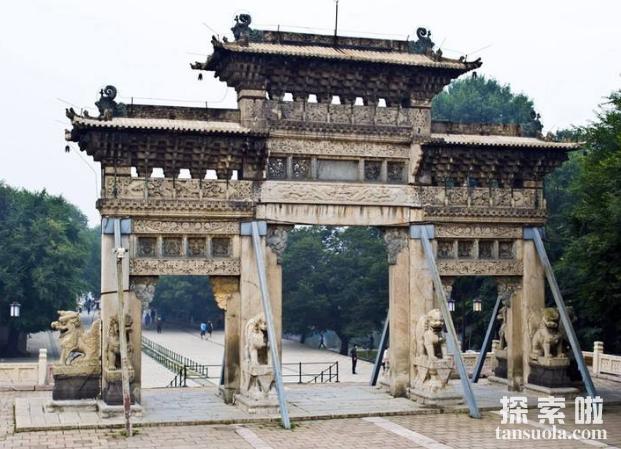 清皇太极陵墓被盗过吗?皇太极陵墓是否被盗真相(图1)