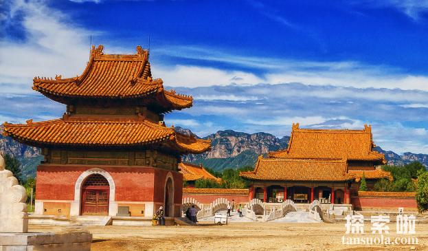 清西陵在哪,清朝皇帝陵墓清西陵的具体位置(图2)
