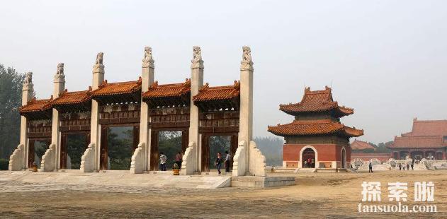 清西陵在哪,清朝皇帝陵墓清西陵的具体位置(图3)