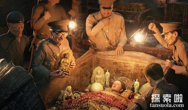 慈禧太后陵墓中小黄包的秘密,盗墓者无人敢动(图3)