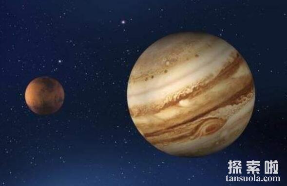 太阳系中最大的行星:木星,比地球大1000倍(1)