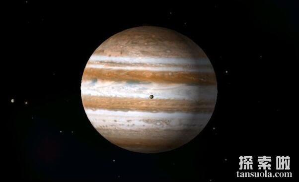 太阳系中最大的行星:木星,比地球大1000倍(2)