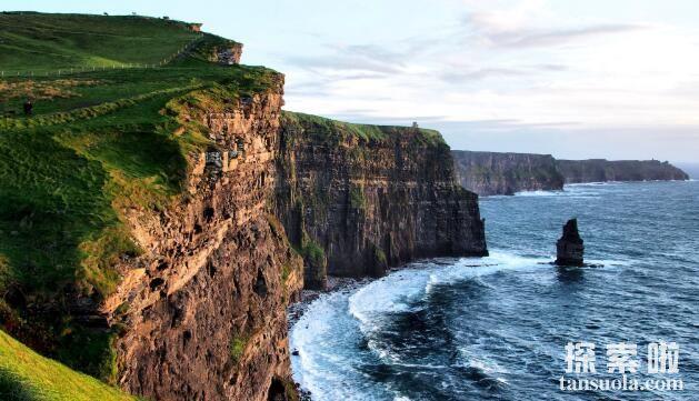 让人颤抖的莫赫悬崖,欧洲落差最大的海岸悬崖(1)