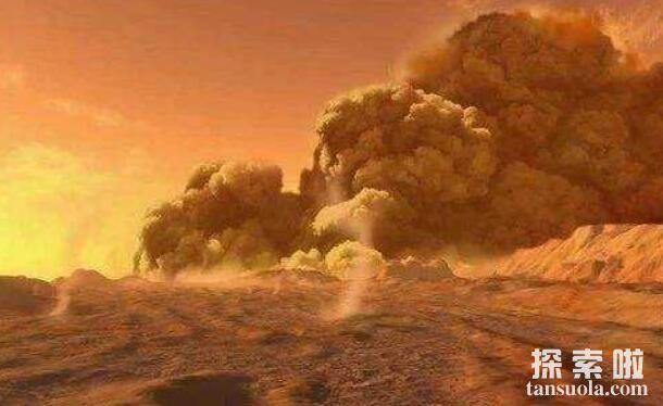 探秘火星大气层,空气稀薄,昼夜温差一百度