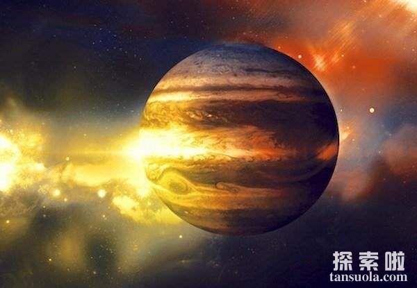 太阳系最大的行星:木星,相当于1300个地球那么大
