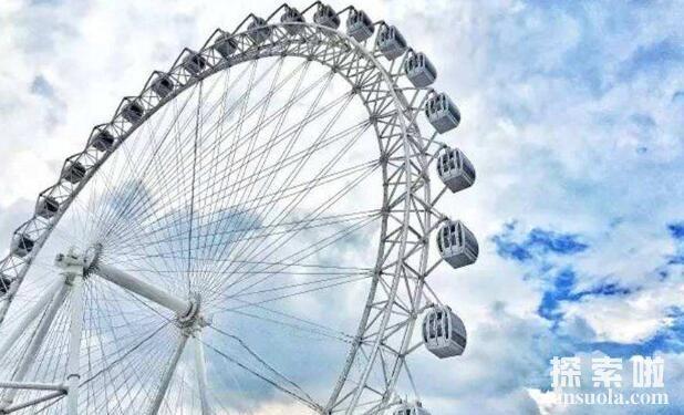 世界上最危险的摩天轮:高出地面247米,全身悬空旋转