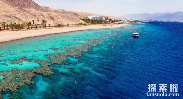 世界上水温最高的海:红海,最高水温60℃