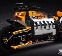世界上最快的摩托车:道奇战斧摩托车,时速676KM(秒速187.7米)