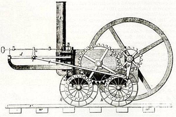 世界上最早的火车,时速仅8千米,理查德·特里维西克研发