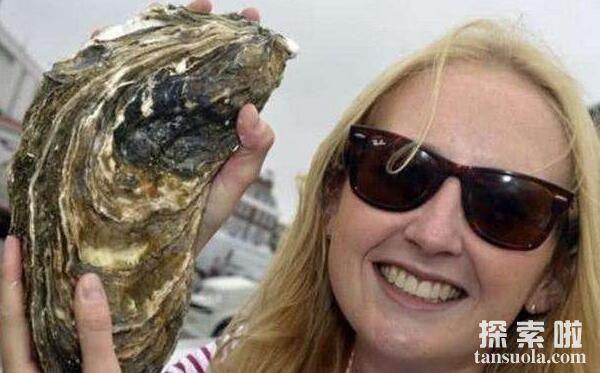 世界上最大的牡蛎:丹麦巨型牡蛎,体长36厘米(已20岁)