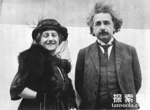 爱因斯坦爱上自己的表姐,爱因斯坦大玩婚外情(数十个情人)