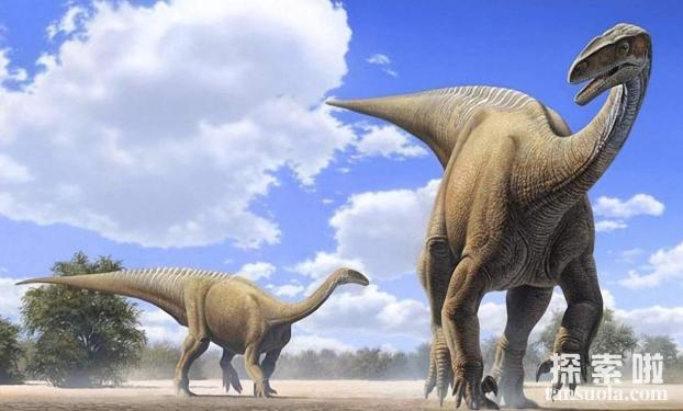 世界上最长最重的恐龙:易碎双腔龙(长35米/体重比蓝鲸大)