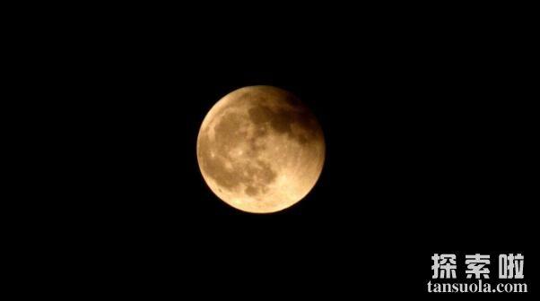 月食是怎么形成的