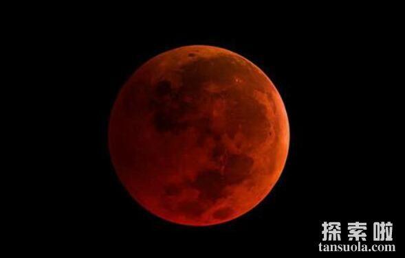 红色的月亮会死人吗,血月真的预示大灾降临么