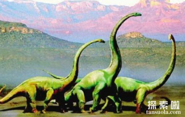 世界上脖子最长的恐龙:马门溪龙,脖子长13米,长过腕龙