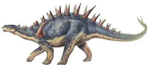 沱江龙:尾巴带利刺的大型食草恐龙(体长7米/与剑龙有亲缘关系)