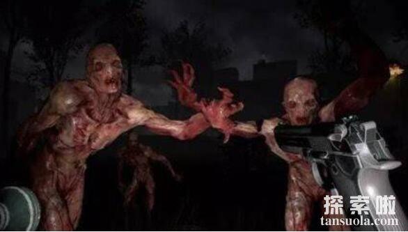 美国无毛僵尸事件真相,电脑游戏里僵尸的PS照(多种说法)