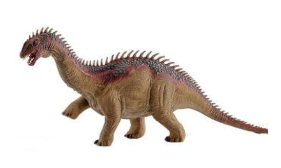 巴拉帕龙:体长18米的蜥脚类恐龙,臀高5.5米的巨型恐龙