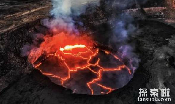 世界上最大的火山排名,前两名在美国,黄石公园火山排第一