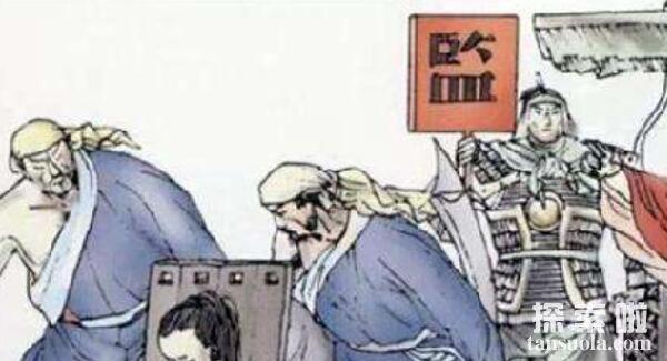 剥皮之刑:满清十大酷刑之一,活剥人皮(太过残忍,史书不敢记载)