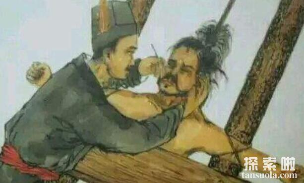 黥刑:在犯人脸上刻字,古代五大肉刑之一(墨刑)