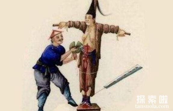 抽肠刑:从肛门抽出大肠,人被扯断肠子而当场毙命(古代酷刑)