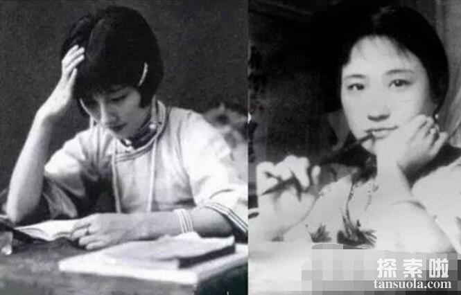 民国四大美女陆小曼,校园皇后出身名门,与徐志摩婚姻成笑点