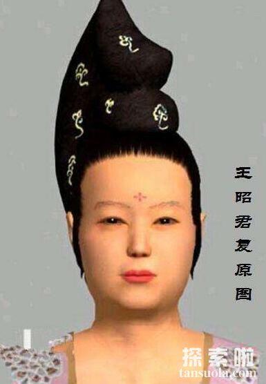 中国古代四大美女复原图,没有期待中的花容月貌(美女变丑妇)