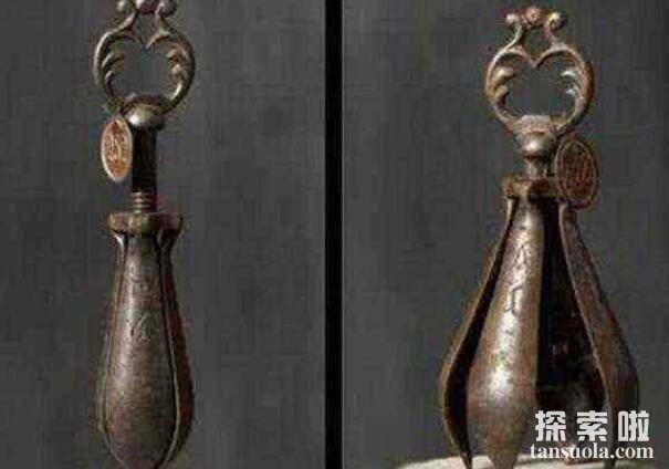 古欧洲刑具之开花梨,专门摧残女性下体的酷刑(造成终身残疾)