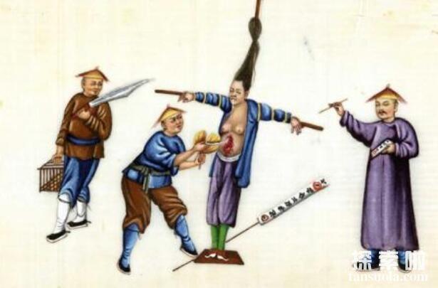 不敢想象的满清酷刑之绞杀,与绞刑相似的残酷刑罚(花样更多)