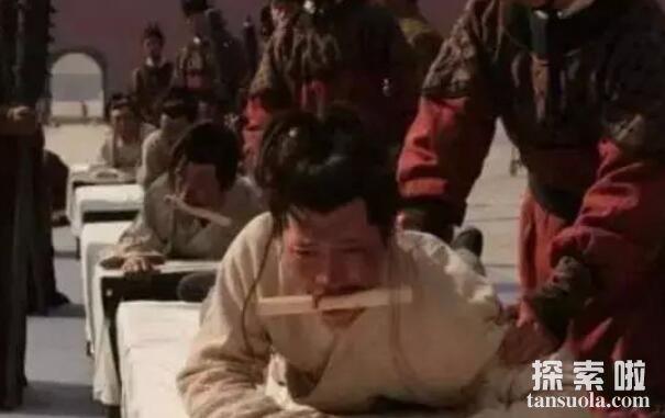 活剥人皮酷刑怎么行刑,揭秘满清十大酷刑之活剥人皮