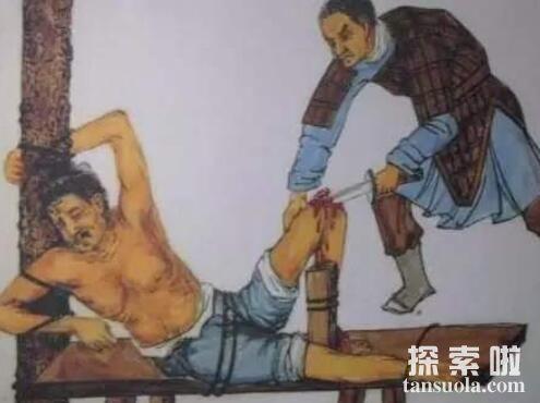 几近疯狂的满清十大酷刑,每一种刑罚都很残忍变态