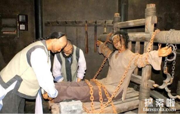 古代五大酷刑,个个惨无人道,受刑者生不如死